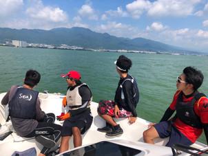 8/28〜8/29 琵琶湖練習