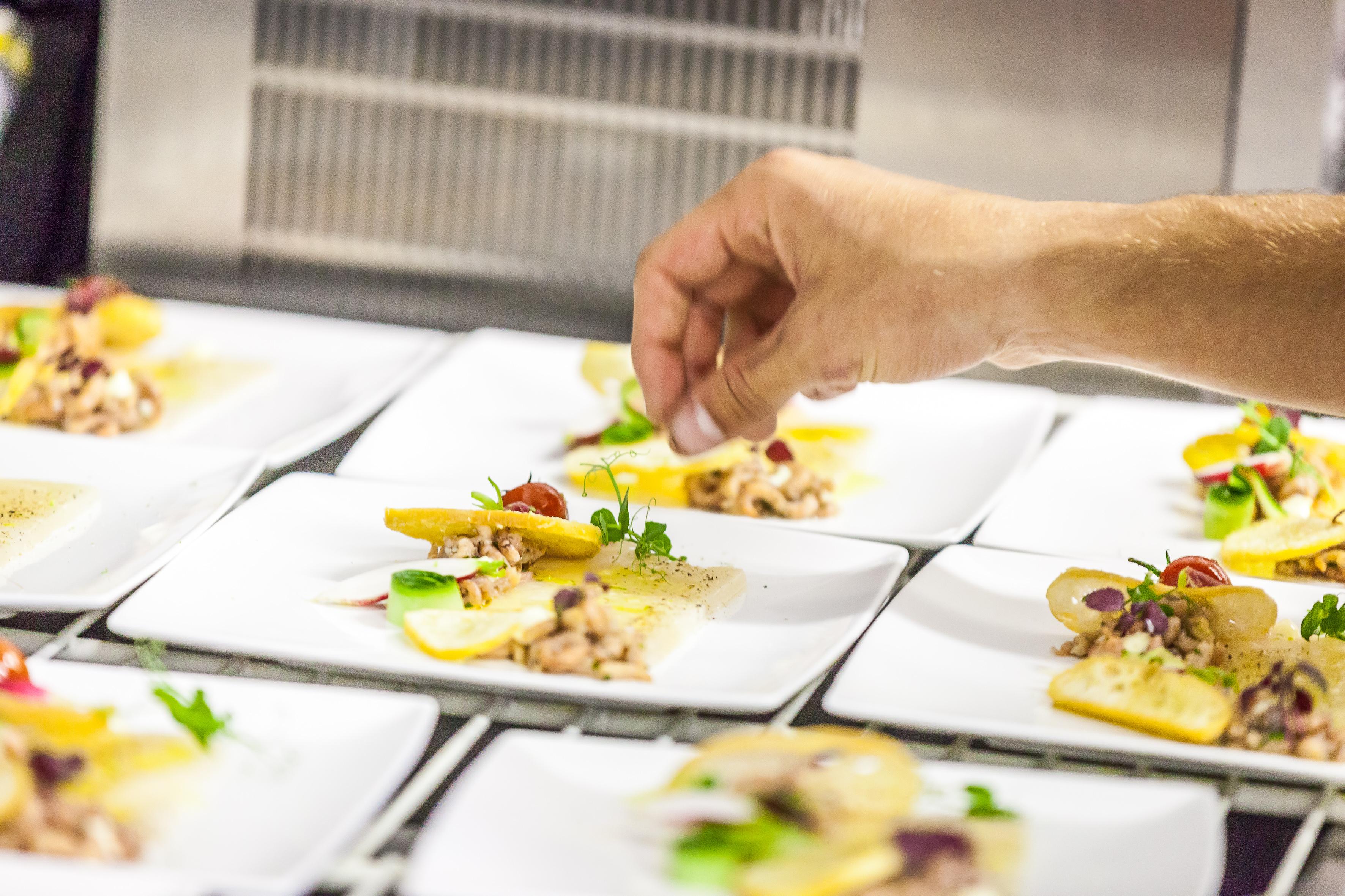 Aangepaste event catering