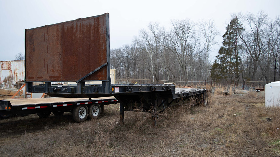2005 Wade Drop Deck Trailer