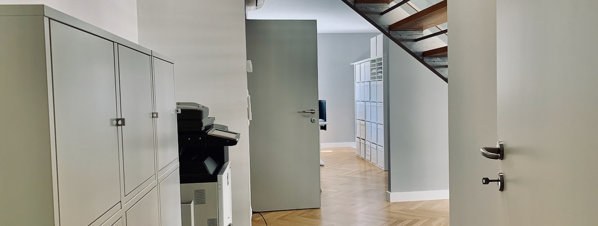 Bürobereich, Drucker & Ablage