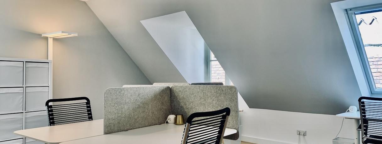 Bürobereich, Open Space Blickrichtung Kurrentgasse