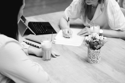 Beratung im Café - Analyse