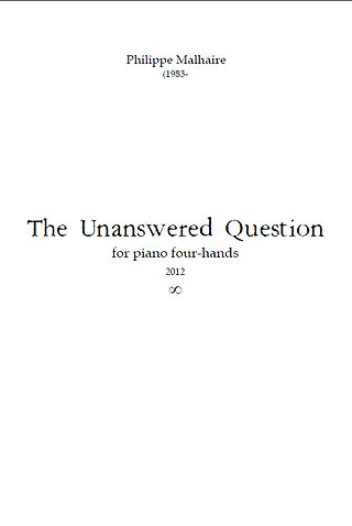 Unanswered Question-Malhaire.png