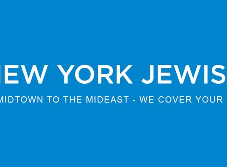 Cikk jelent meg rólunk a New York Jewish Week-ben