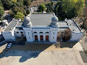 Main building Budapest Jewish Cemetery
