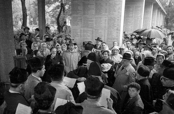 Budapest Jewish Cemetery 1959