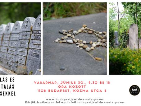Önkéntes nap a temetőben, június 30-án
