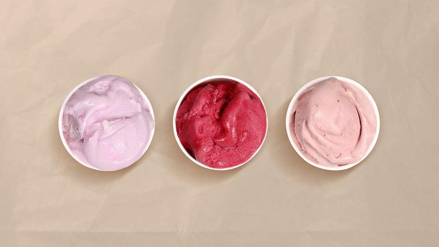 Pink Ice Creams