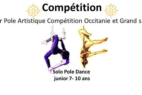 Pole Dance  solo junior 7- 11ans