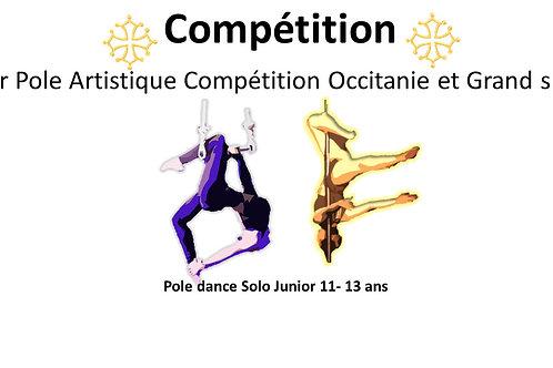 Pole Dance solo junior 12-16 ans