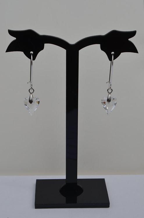 SW30 Crystal Wild Heart Earrings