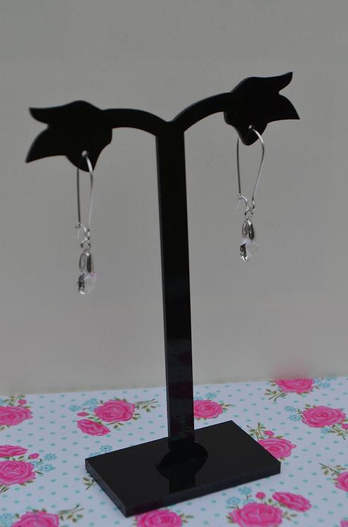 SW20 Crystal drop earrings