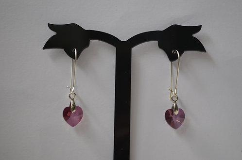 10mm Heart Earrings