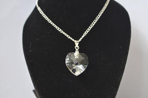 Crystal Swarovski Heart Necklace