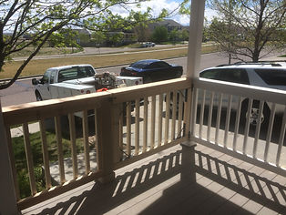 HandySmith LLC new porch rail