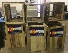 HandySmith LLC PawsCo donation boxes