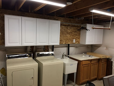 HandySmith LLC laundry room makeover