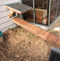HandySmith LLC doggie door and ramp