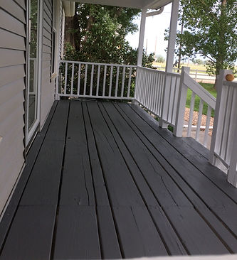 HandySmith LLC porch paint
