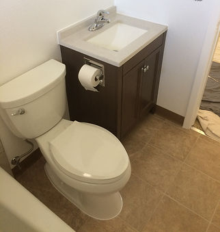 HandySmith LLC bathroom makeover