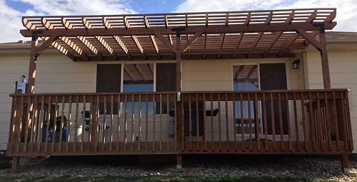 HandySmith LLC deck and pergola