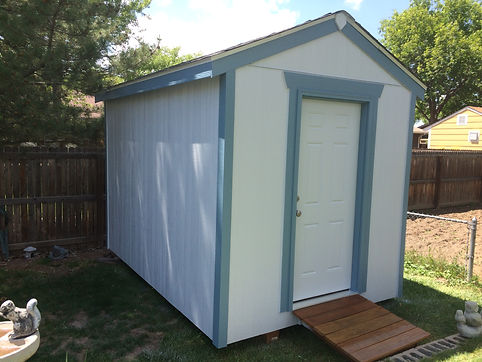 HandySmith LLC Shed build