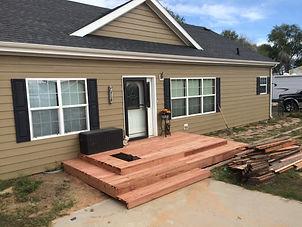 HandySmith LLC deck rebuild