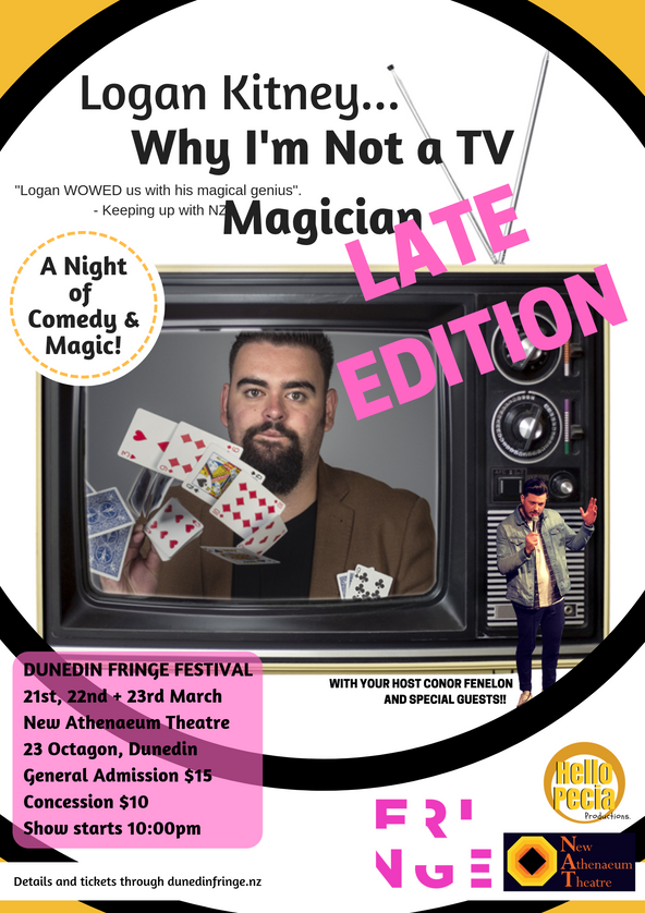 Logan Kitney: Why I'm Not A TV Magician