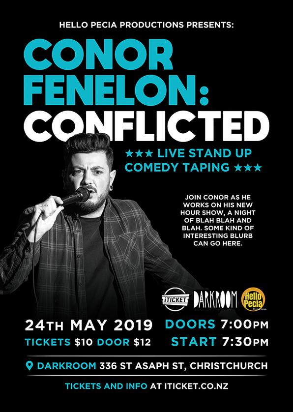Conor Fenelon: Conflicted