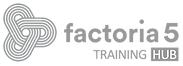 Logo factoría 5 Training Hub