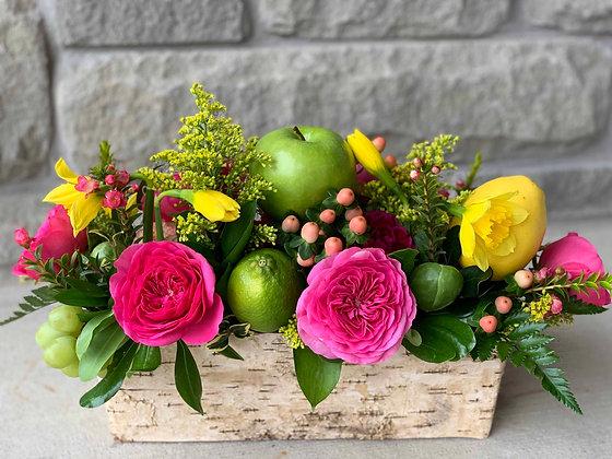 Apples,Lemons and Garden Roses