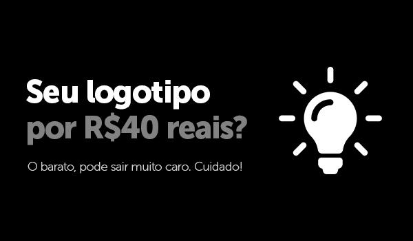 Seu logotipo por 40 reais. Vale a pena?