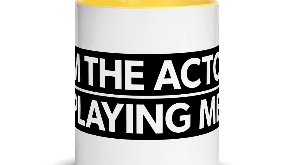 Mug with Color Inside (ACTOR)