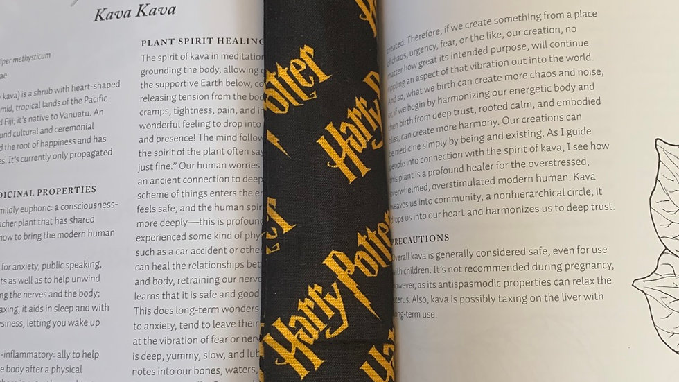 Recycled Material Bookmark - Harry Potter