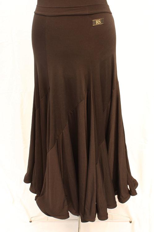 Black Ballroom Skirt