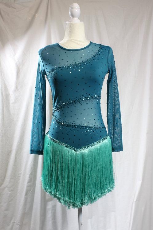 Turquoise Twirl