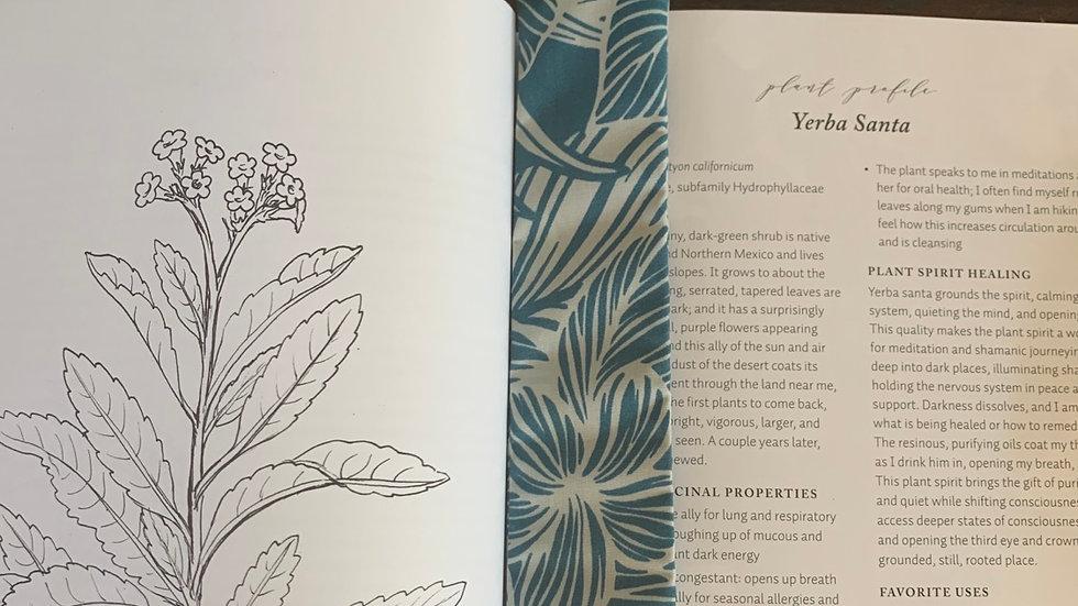 Recycled Material Bookmark - Blue Hawaiian
