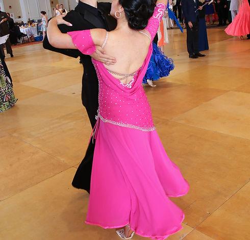 Pink Smooth Ballroom Dress