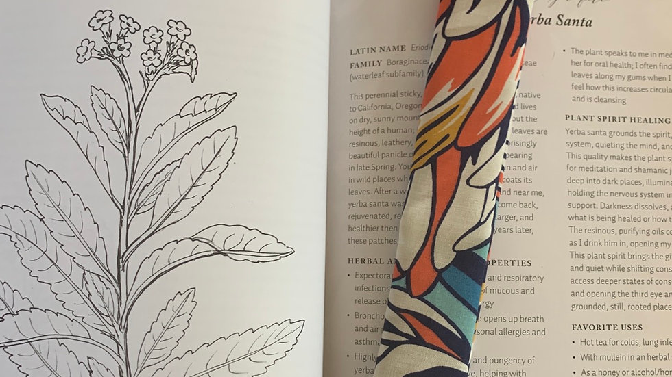 Recycled Material Bookmark - Paige