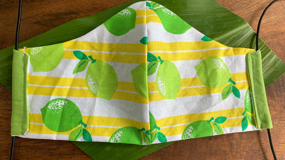 Cloth Face Mask in Citrus