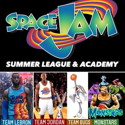 SPACE JAM Summer League (Grades 3-5) Girls/Boys
