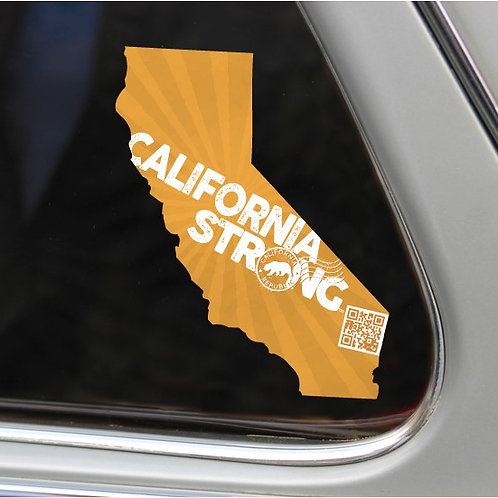 California Strong Window Decal