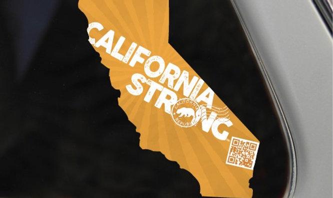California Strong Window Decal