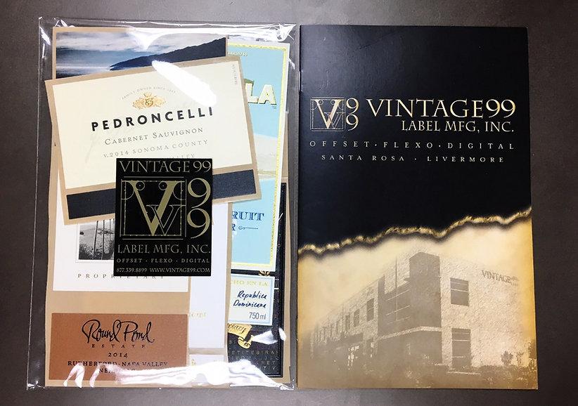 Vintage99 Label MFG Inc