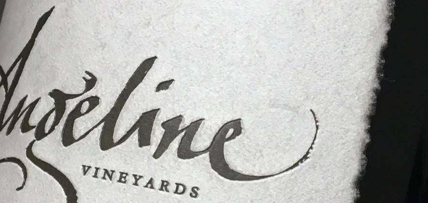 Angeline Vineyards Label
