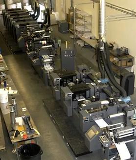 Waterless Offset Press Installed