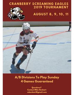 Eagles Tournament Flyer 2