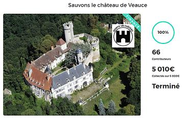 Campagne de Dartgnans.fr pour financer les restaurations