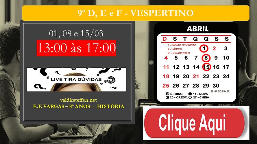 LIVE AO VIVO -  APC2 - 9º ANOS VESPERTIN