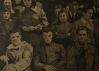 Il ritorno dei Partigiani - Matite su cartoncino colorato